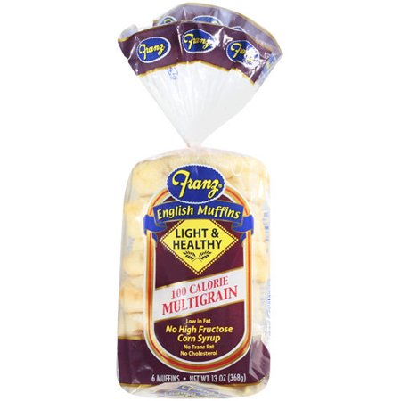 Franz Multigrain English Muffins, 13 oz - Walmart.com