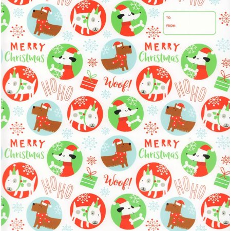 Doggie Merry Christmas Wrapper,  by Calendar Ink