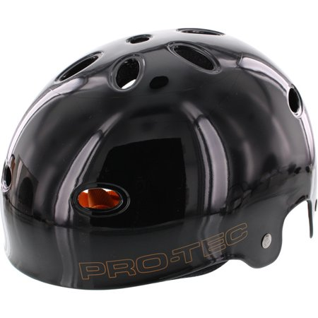 PRO-TEC B2 SXP Liner Gloss Black Skateboard Helmet - (Certified) - Small / 20.6