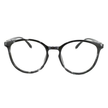0a43cf3cf4 Eye Buy Express Prescription Glasses Mens Womens Black White Tortoiseshell  Style Retro Reading Glasses Anti Glare