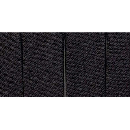 41650 Single Fold Bias Tape .5 in. 4 Yards-Black - image 1 of 1
