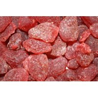 BAYSIDE CANDY DRIED BABY STRAWBERRIES, 5LBS