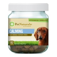 Pet Naturals of Vermont Calming Behavioral Support Supplement for Dogs