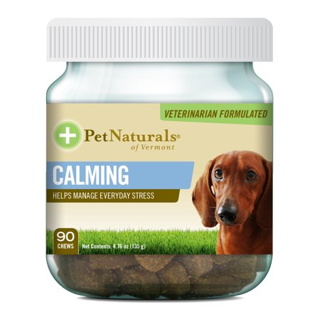 Pet Naturals of Vermont Calming Behavioral Support Supplement for Dogs, 90 Bite-Sized