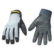 Youngstown Glove 190512 04-3070-70-L Mesh Top Reinforced Glove, Large