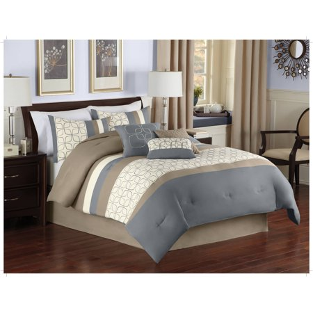Better homes and gardens 7 piece retro geo comforter set 7 better homes and gardens