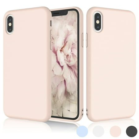 iPhone X Case, iPhone X Case For Girls, iPhone 10 Case, Njjex Matte Charming Colorful Slim Soft TPU Bumper Case Cover For Apple iPhone X 2017 Release - Cape Girls
