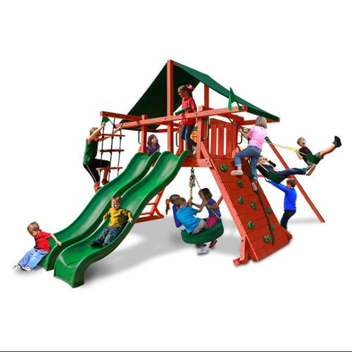 Sun Climber Extreme Swing Set with Sunbrella Canvas Canopy