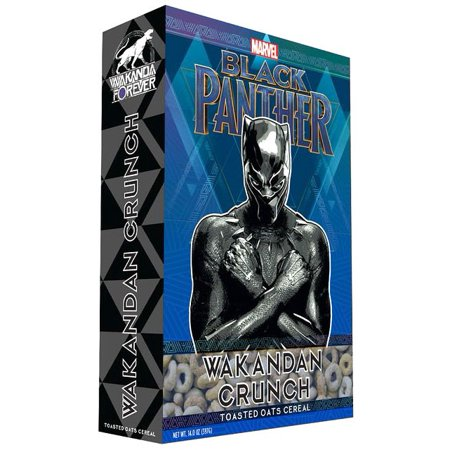 Marvel Black Panther Wakanda Crunch Breakfast Cereal