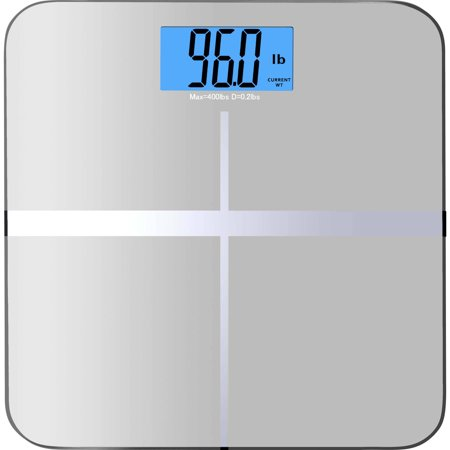Balancefrom High Accuracy Premium Digital Bathroom Scale With 3 6   Extra Large Dual Color Backlight Display And   Smart Step On   Technology  Newest Version   Assorted Colors