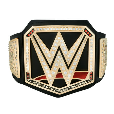 Official WWE Authentic  Championship Toy Title Belt 2017 Gold (Toy Wwe Weapons)