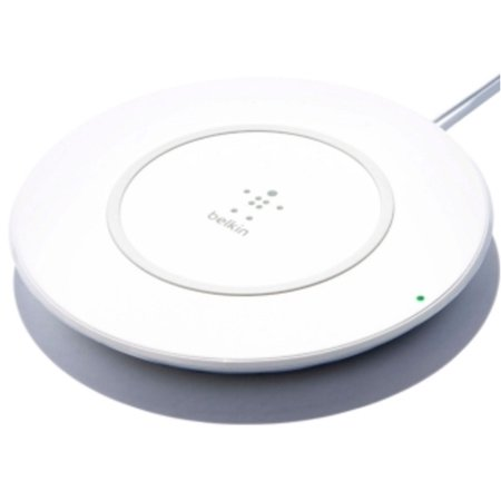 Belkin F7U027DQWHT BOOSTUP Qi Wireless Charging Pad for iPhone X, (Refurbished) ()