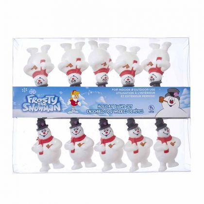 Kurt Adler 10-Light Frosty the Snowman Light Set