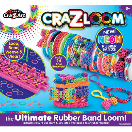 Cra-Z-Loom Ultimate Rubber Band Loom ()