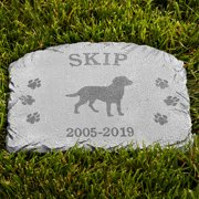 Personalized Dog Memorial Stone