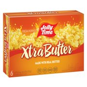 Jolly Time Xtra Butter Microwave Popcorn 3 Oz, 6 Ct