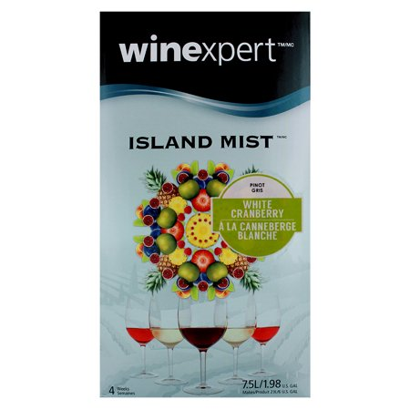 White Cranberry Pinot Gris (Island Mist) Vintage Pinot Grigio