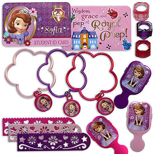 Disney Sofia the First Mega Favor Set