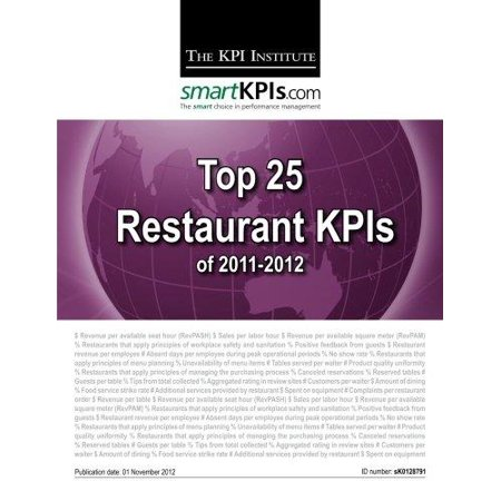 Top 25 Restaurant Kpis Of 2011 2012