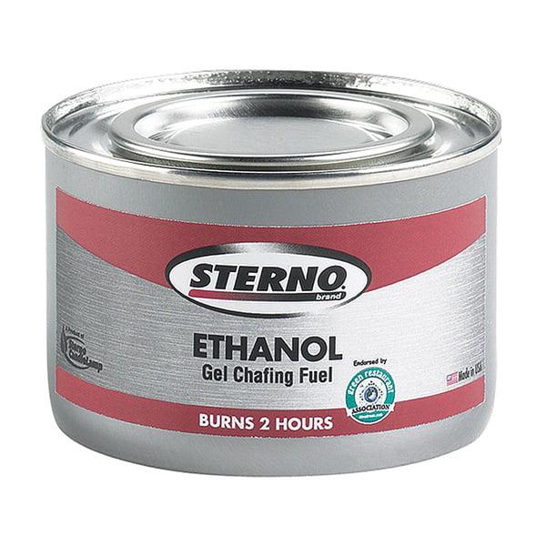 STERNO Chafing Fuel, Ethanol Gel, PK 72