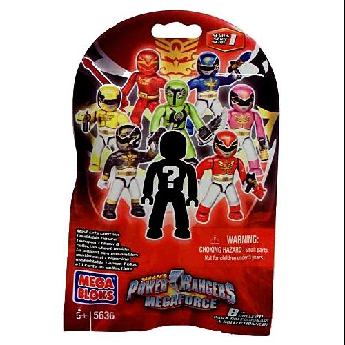 Mega Bloks Power Rangers Megaforce Series 1 Minifigure Mystery Pack