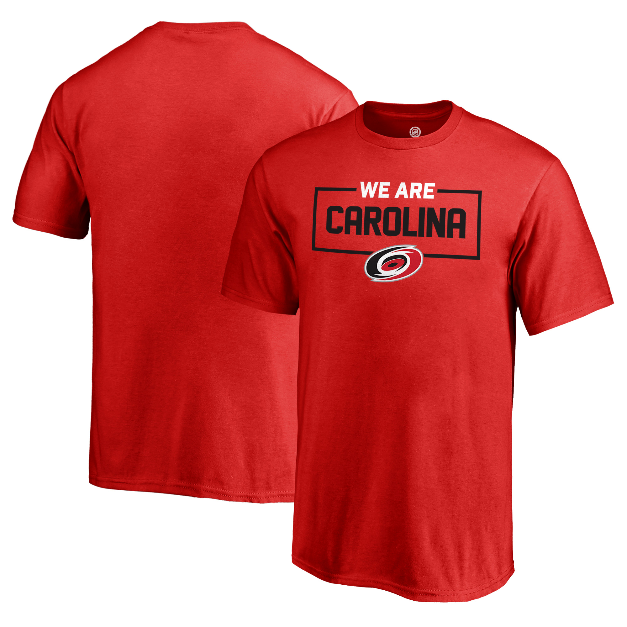 Carolina Hurricanes Fanatics Branded Youth Iconic Collection We Are T-Shirt - Red