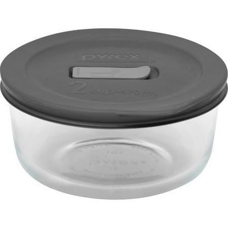 pyrex no leak lids 2 cup round baking dish with plastic lid. Black Bedroom Furniture Sets. Home Design Ideas