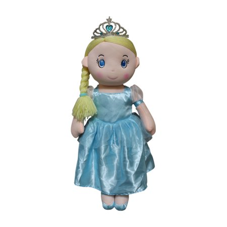 Master Toys Princess Rag Doll with Tiara - Blue - Gothic Rag Dolls