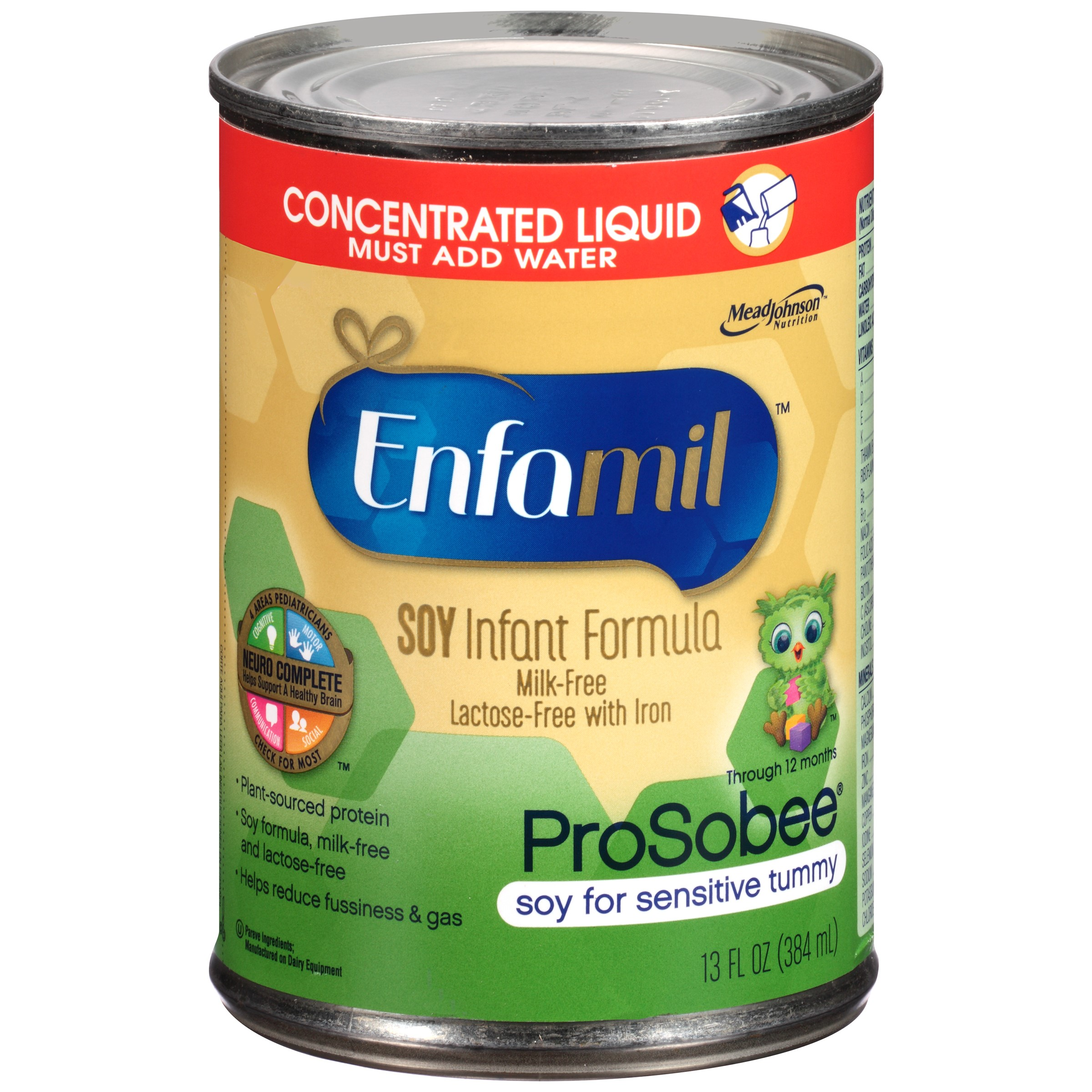 Enfamil ProSobee Soy Concentrated Liquid Infant Formula 13 fl. oz. Can