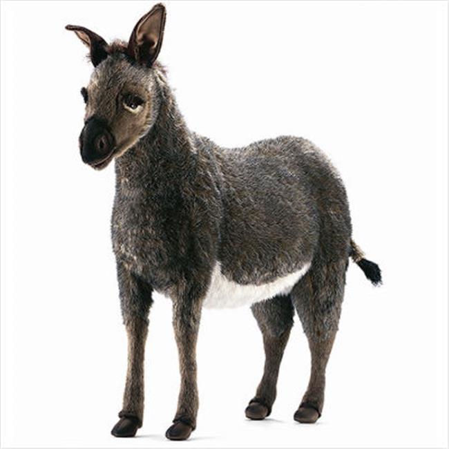 Hansa Toys 3808 Ride On Donkey - Grey and White