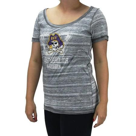Women's NCAA East Carolina Pirates Vintage Spirit Studs Bling (Pirates Women's Clothing)
