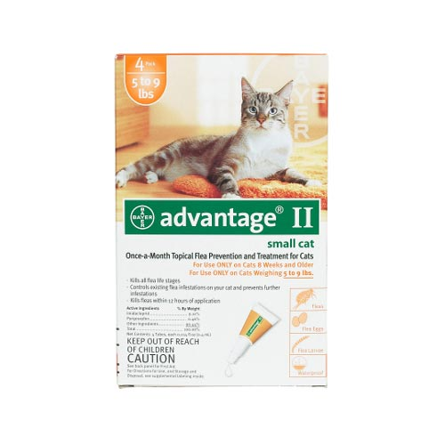 Advantage Flea Control for Cats 1-9 lbs 4 Month Supply by Advantage