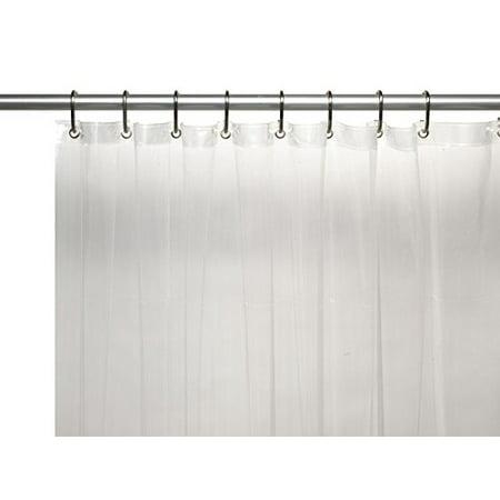 Royal Bath Extra Long 10 Gauge Vinyl Shower Curtain With Metal Grommets 72 X
