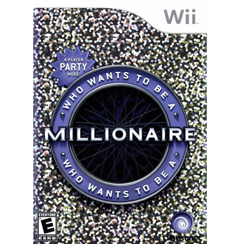 Who Wants To Be A Million (Wii) - Pre-Owned