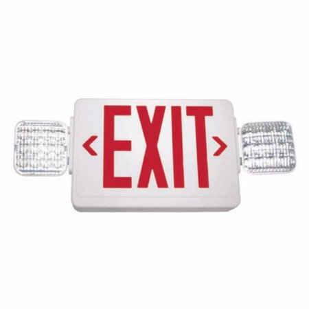 Barron 01600 - VLED-U-WH-EL90-G2 Indoor Exit Emergency Combination LED - Emergency Fixture