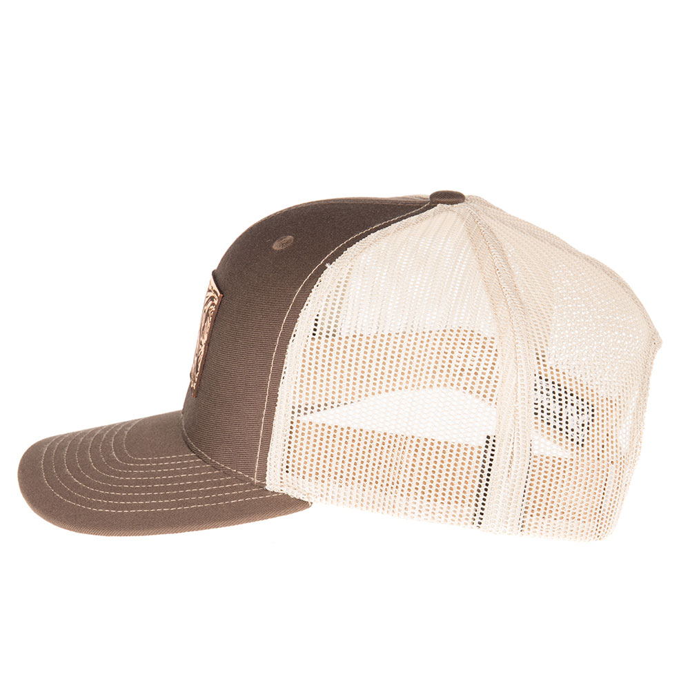 NRS - NRS Mens Leather Patch  Khaki Cap OS Brown - Walmart.com 4f62901c7335