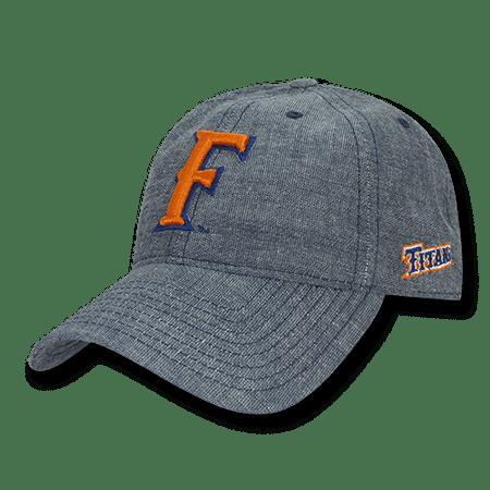 - NCAA CSUF Fullerton Cal State University Titans Relaxed Denim Baseball Caps Hats