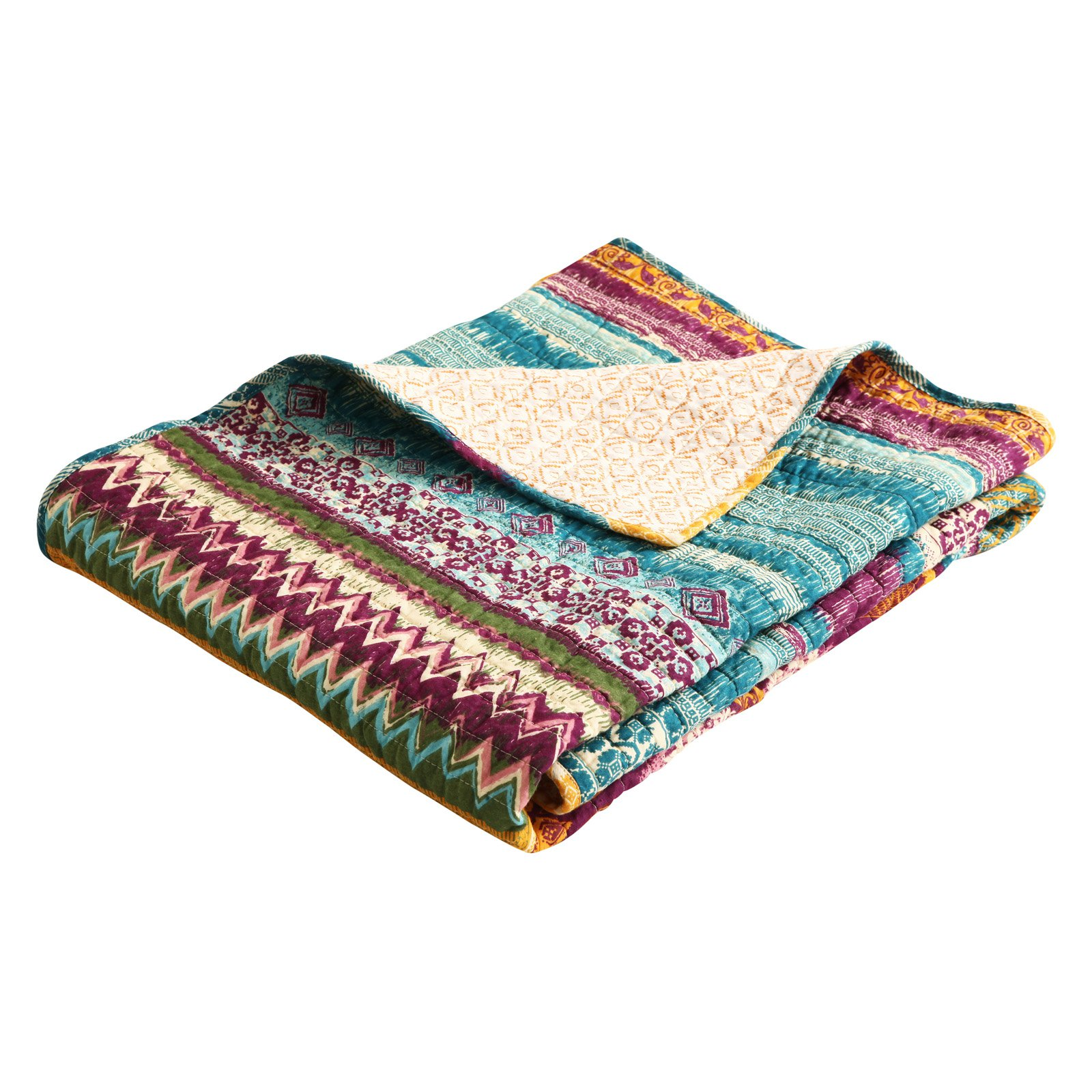 Greenland Home Southwest Quilted Cotton Throw
