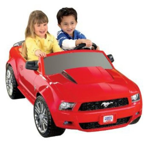 Fisher-Price Power Wheels Red Ford Mustang 12-Volt Battery-Powered Ride-On