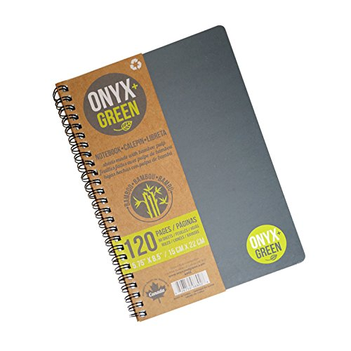 Onyx Blue Notebook Inches 6802BK