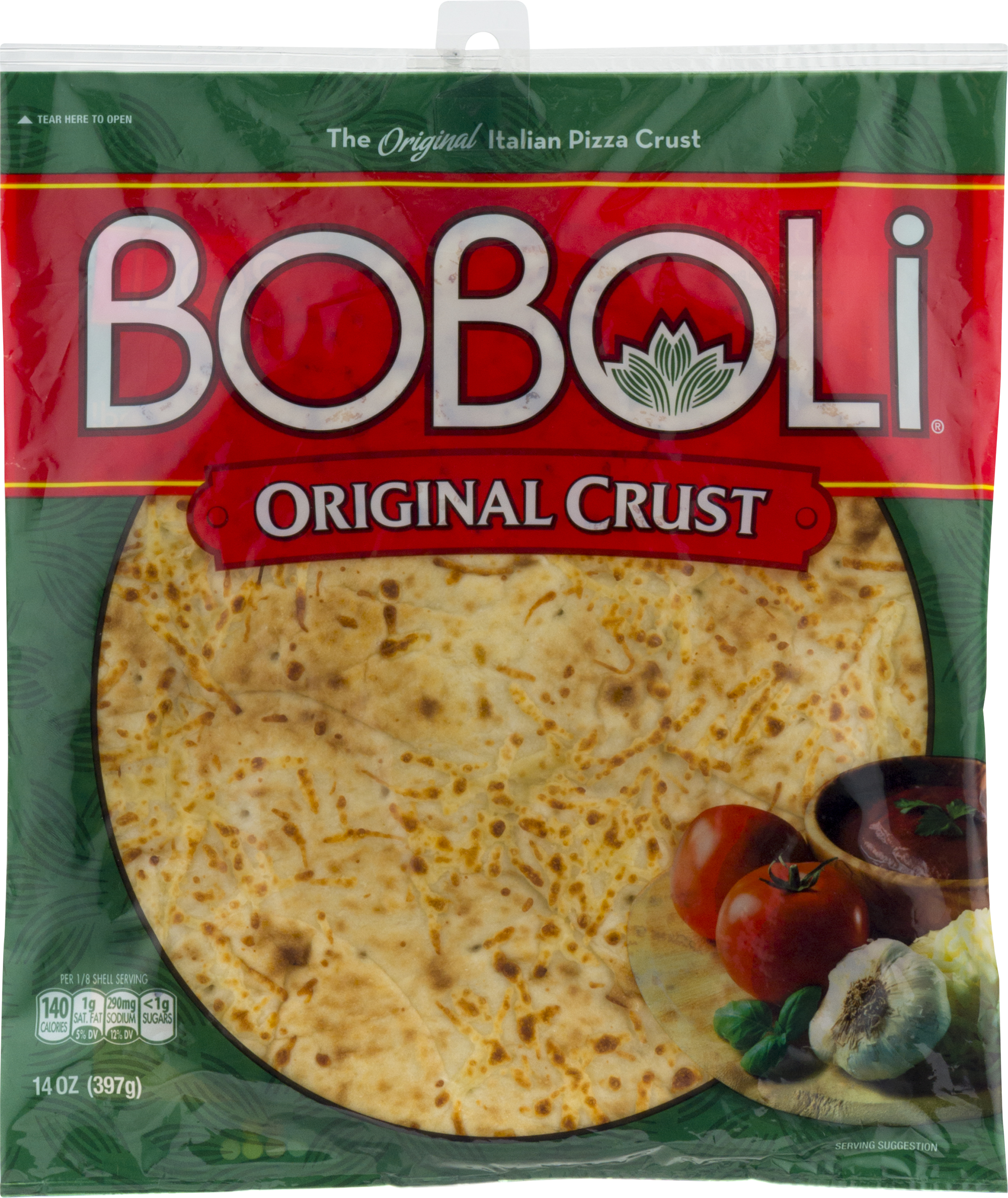 boboli italian pizza crust original 14 0 oz walmart