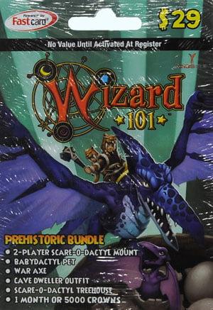 Kingsisle Wizard101 Prehistoric Bundle 29 Card Walmart Com Walmart Com