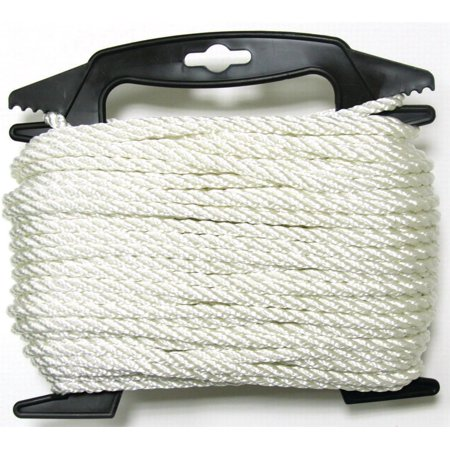 Lehigh Group NPP4100W-P Twist Nylon Rope, 1/4
