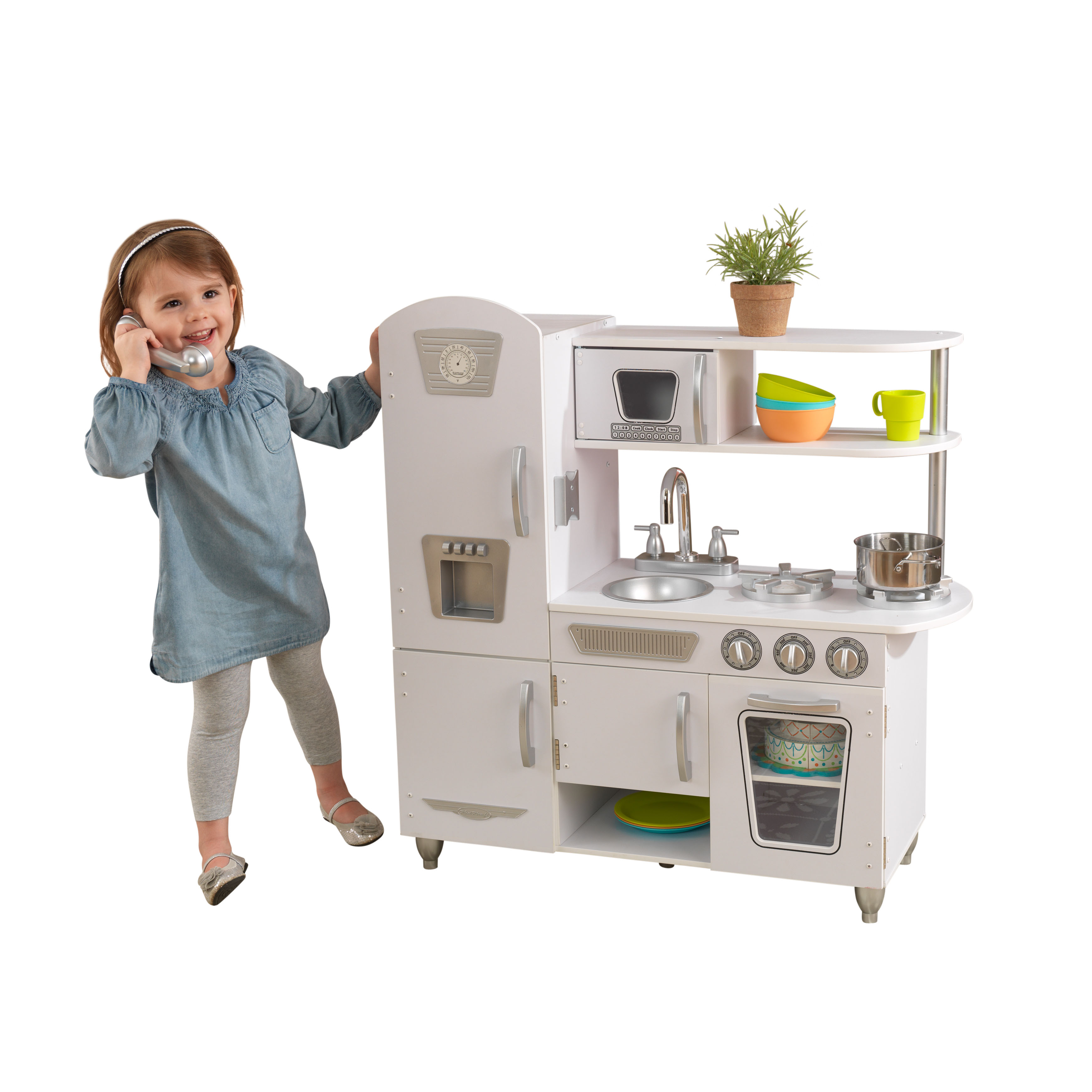 KidKraft Vintage Play Kitchen, White KidKraft Kitchen