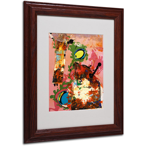 "Trademark Fine Art ""Urban Collage III"" Matted Framed Art by Miguel Paredes"