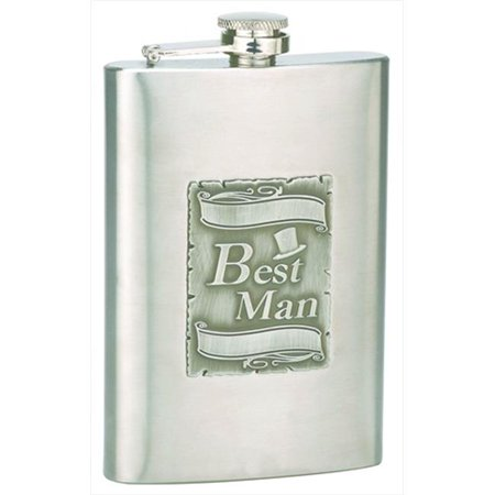 FJX Wholesale HFL-D021 8oz Best Man Stainless Steel Flask