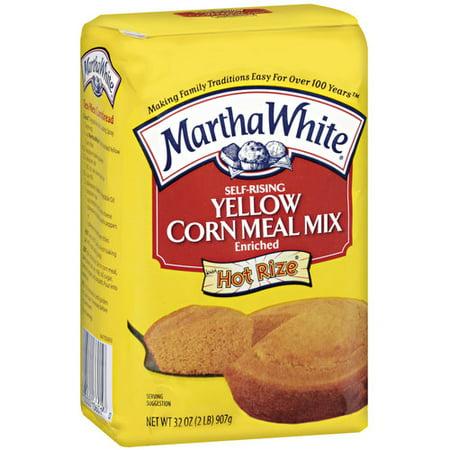 Martha White Self Rising Yellow Corn Meal Mix  32 Oz