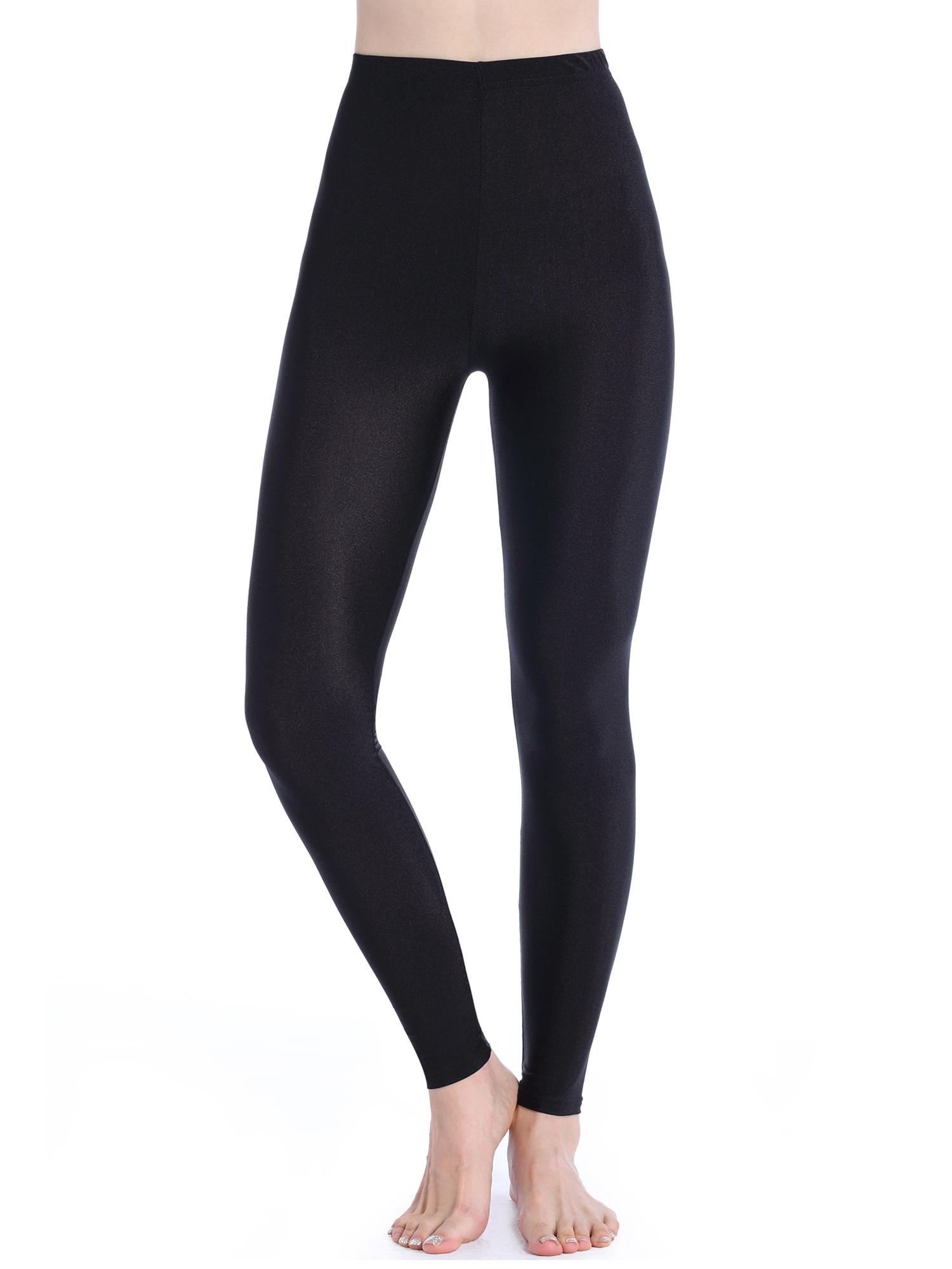 477e86eed76 SAYFUT - SAYFUT Women Basic Leggings Stretch Yoga Pants High Waist Tummy  Control Workout Fitness Yoga Trouser Black - Walmart.com
