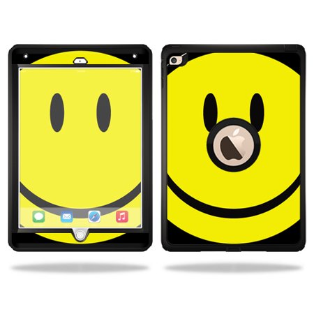 Mightyskins Protective Vinyl Skin Decal Cover for OtterBox Defender Apple iPad Air 2 wrap sticker skins Smiley - Air Fill Smiley Face