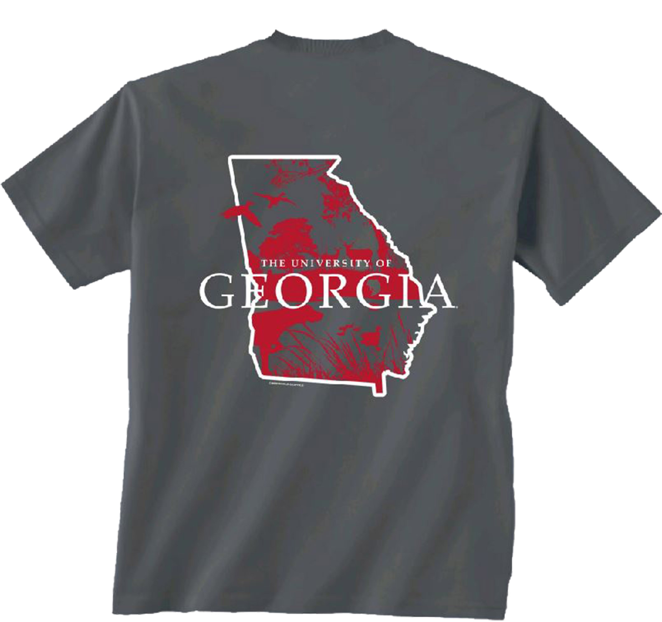 NCAA Georgia Bulldogs State Sportsman Short Sleeve T-shirt-xl